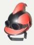 Мотоциклетный шлем + очки Супергерой